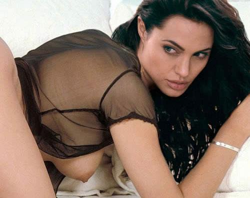 Angelina Jolie Naked Tits Pussy